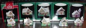 Hallmark Lot Miniature OLD ENGLISH VILLAGE Series - MIB