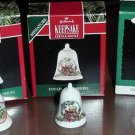 Hallmark Lot Miniature THIMBLE BELLS Series - MIB