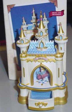 2002 Hallmark Jewelry Box Ballet Musical Ornament NIB