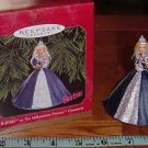 Hallmark ~ 1999 – Barbie as the Millennium Princess Ornament