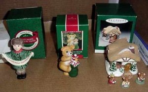 Hallmark Moustershire Christmas, Cinnamon Bear, Russian