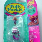 Bluebird 1993 Polly Pocket Cake Surprise Ring - MOC!