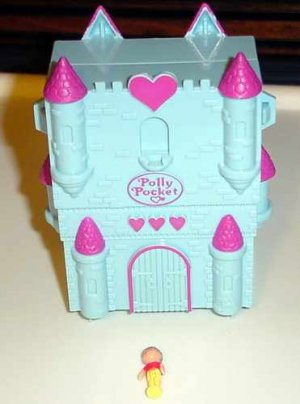 Bluebird 1994 Polly Pocket Fairy Tale Castle COMPLETE