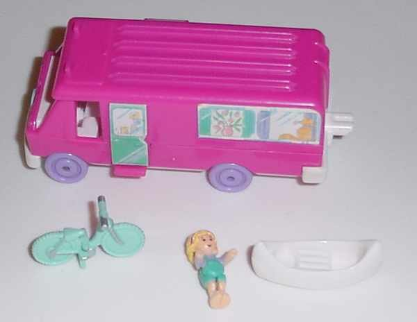 Bluebird 1994 Polly Pocket Home On The Go - COMPLETE