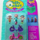Bluebird 1994 Polly Pocket ON THE GO Biking & Skating Set