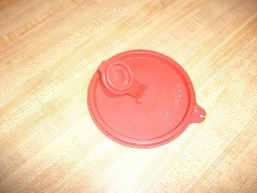 TUPPERWARE REPLACEMENT LID 563 A TAB Spout Seal Red