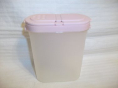 Tupperware Modular Mates Spice Container #1846 Pink Lid