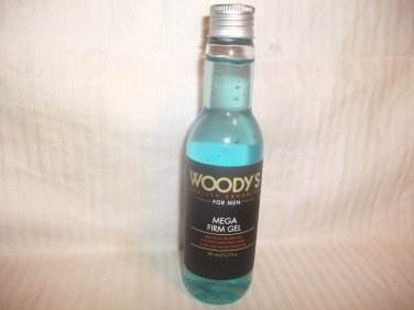 Woody's Mega Firm Super-Hold Gel - 6.3 oz Promo Bottle