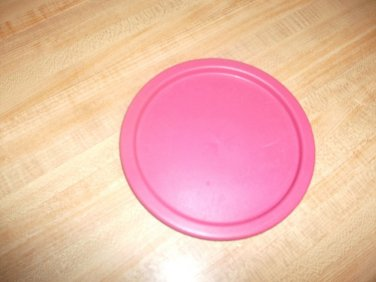 Tupperware ROSE Replacement Lid 2421 2421A One Touch Seal Canister Size B EUC