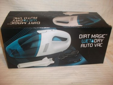 Dirt Magic Wet Dry Auto Handheld Vacuum Bagless Car Shop Vac