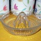 Hazel Atlas Vintage Clear Glass Citrus Juicer Reamer