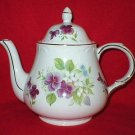 Arthur Wood & Son Floral English Porcelain Teapot