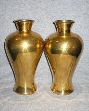 VINTAGE BRASS VASE(MADE IN INDIA) | Instappraisal