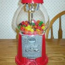 Carousel Classic Red Metal Gumball Machine