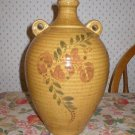 Haeger Pottery Heavy Stoneware Floral Jug Vase