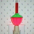 Red Green Red Christmas Holiday Bubble Night Light