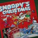 Snoopy's Christmas 1960's Children's LP Record