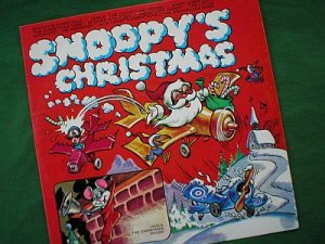 Snoopy's Christmas 1960's Children's LP Record