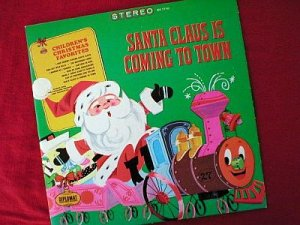 Santa Claus Is Coming To Town Vinyl LP Record