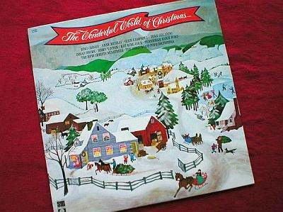 The Wonderful World of Christmas Vinyl LP Record