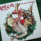 Kenny & Dolly Once Upon A Christmas 1984 LP Record