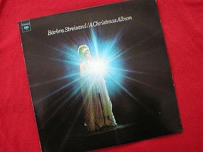 Barbara Streisand / A Christmas Album LP Record