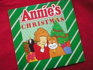 Annie's Christmas 1982 Children's Vinyl LP Record