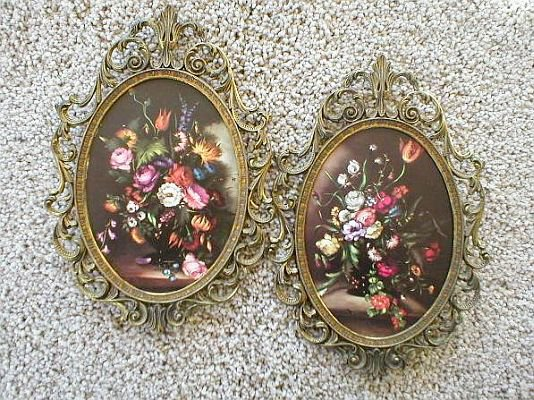 Solid Brass Frames w/ Curved Convex Bubble Glass