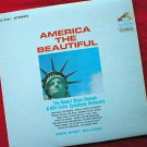 America The Beautiful - Robert Shaw Chorale LP Record