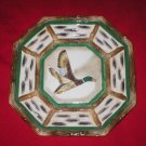 Hand Painted Wild Duck Folk Art Dinner Display Plate