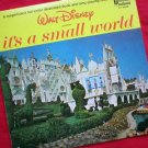 Disney's It's A Small World Vinyl LP Record & Book