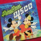 Disney's Mickey Mouse Disco 1979 Vinyl LP Record
