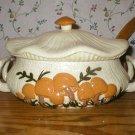 Arnel's Vintage Art Pottery Mushroom Casserole Dish