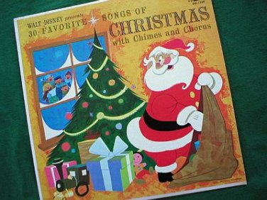 Disney's 30 Favorite Songs of Christmas 1963 Record