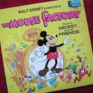 Disney's The Mouse Factory 1972 Vinyl LP Record