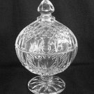 Cristal D'Arques Lead Crystal Covered Compote Dish