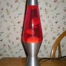 Vintage Retro Style Red Silver Motion Lamp Night Light