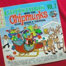 Christmas With The Chipmunks 1963 LP Record