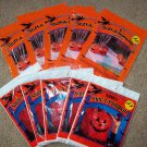 Orange Halloween Pumpkin Leaf Bags - New