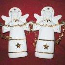 Hallmark Keepsake Porcelain Holiday Angel Figurines