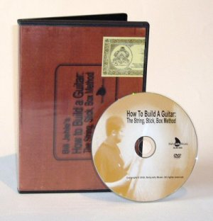 How To MAKE A CIGAR BOX GUITAR, Luthier DVD-VIDEO
