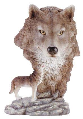 Tomberwolf Bust  ( Made of Alabastrite