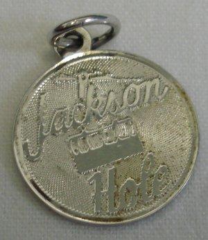 Vintage Sterling JACKSON HOLE, WYOMING Souvenir Charm