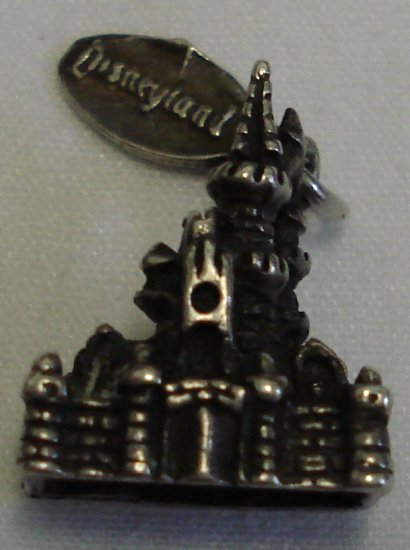 Vintage Sterling SLEEPING BEAUTY'S CASTLE Charm DISNEYLAND CALIFORNIA