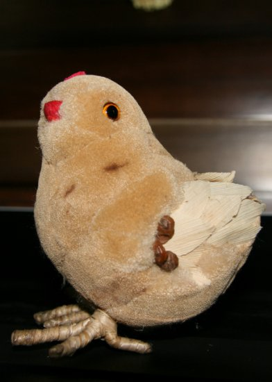 Eco friendly craft - Chick