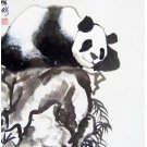 Chinese Original Painting Panda