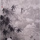Chinese Original Painting Pandas & Bamboo