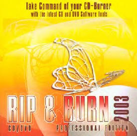 Rip & Burn  CD/DVD Professional Edition