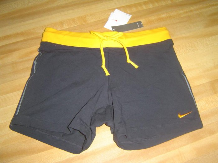 NwT M 8-10 NIKE Women Fitted Yoga Tennis Shorts New