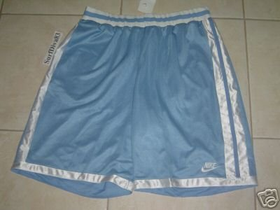 NwT XXL NIKE Blue White Basketball Shorts Men New 2XL